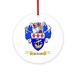 McDavid Round Ornament