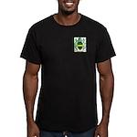 McDarragh Men's Fitted T-Shirt (dark)