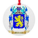 McDaniel Round Ornament