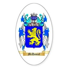 McDaniel Sticker (Oval)
