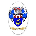 McDade Sticker (Oval 50 pk)