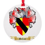 McCure Round Ornament