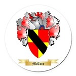 McCure Round Car Magnet