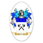 McCurdy Sticker (Oval)