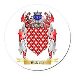 McCully Round Car Magnet