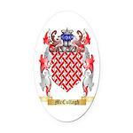 McCullagh Oval Car Magnet