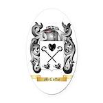 McCuffie Oval Car Magnet