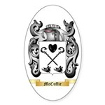 McCuffie Sticker (Oval 50 pk)