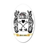McCuffie 20x12 Oval Wall Decal