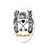 McCuffie 35x21 Oval Wall Decal