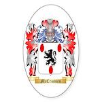 McCrossen Sticker (Oval 50 pk)