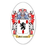 McCrossan Sticker (Oval 10 pk)