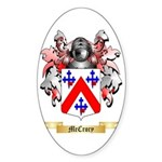 McCrory Sticker (Oval 10 pk)