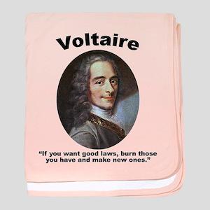 Voltaire Laws baby blanket