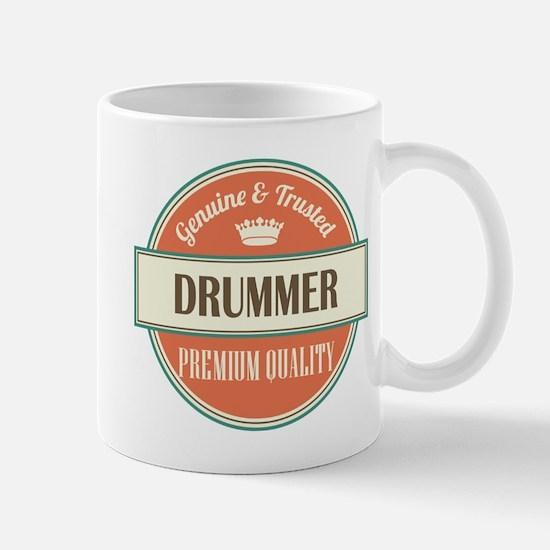 drummer vintage logo Mug