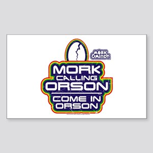Mork and Mindy: Come In Orson Sticker (Rectangle)
