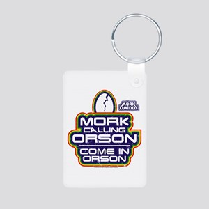 Mork and Mindy: Come In Or Aluminum Photo Keychain