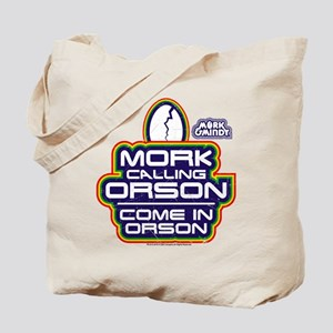 Mork and Mindy: Come In Orson Tote Bag