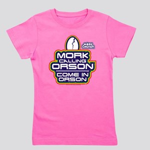 Mork and Mindy: Come In Orson Girl's Tee