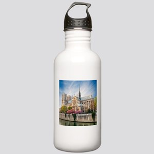 Notre Dame Cathedral Stainless Water Bottle 1.0L