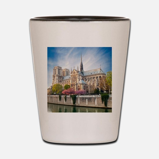 Notre Dame Cathedral Shot Glass