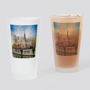 Notre Dame Cathedral Drinking Glass