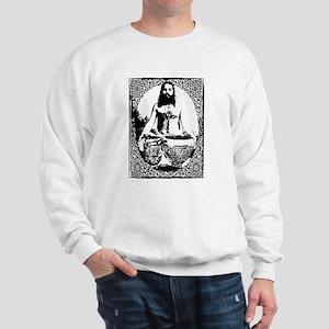 Meditating Guru Sweatshirt