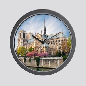 Notre Dame Cathedral Wall Clock