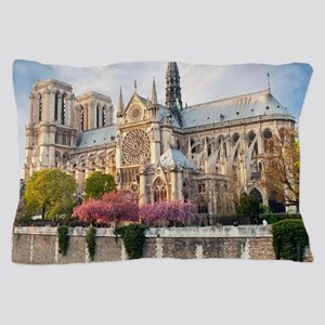 Notre Dame Cathedral Pillow Case