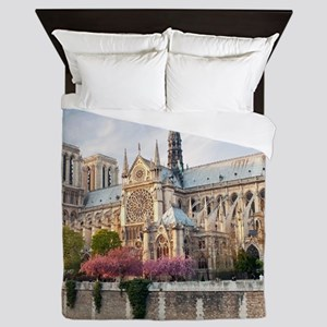 Notre Dame Cathedral Queen Duvet