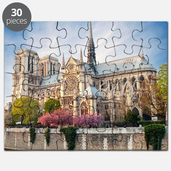 Notre Dame Cathedral Puzzle
