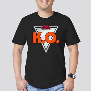 Mork and Mindy: K.O. Men's Fitted T-Shirt (dark)