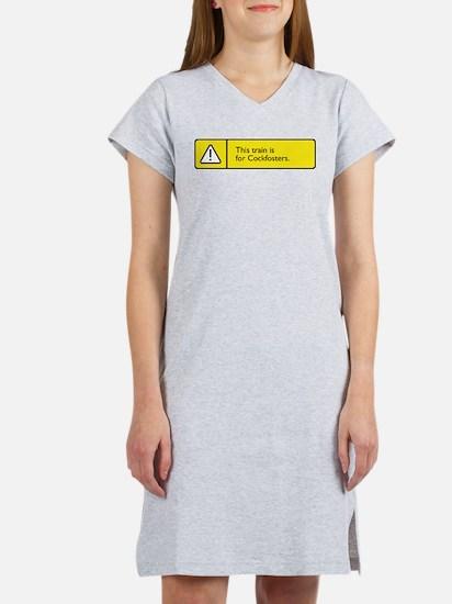 Cute Frustrated Women's Nightshirt