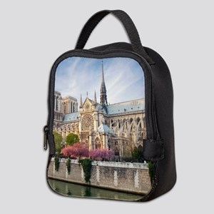 Notre Dame Cathedral Neoprene Lunch Bag