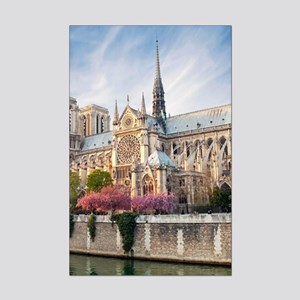 Notre Dame Cathedral Mini Poster Print