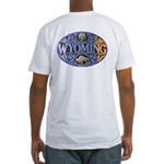 WYOMING Fitted T-Shirt