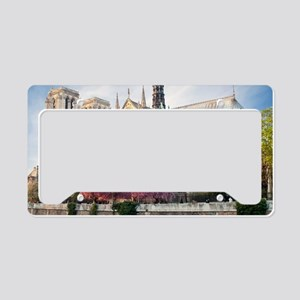 Notre Dame Cathedral License Plate Holder