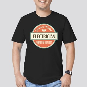 electrician vintage lo Men's Fitted T-Shirt (dark)