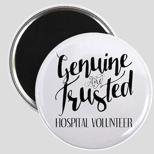 Genuine and Trusted Hospital Volunteer Magnet
