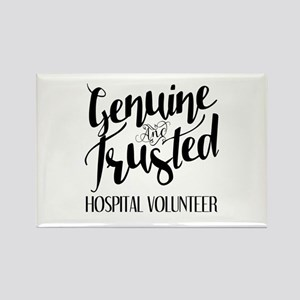 Genuine and Trusted Hospital Volu Rectangle Magnet