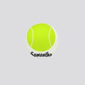 Tennis Ball Mini Button