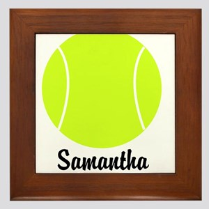 Tennis Ball Framed Tile