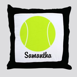 Tennis Ball Throw Pillow