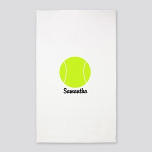 Tennis Ball Area Rug