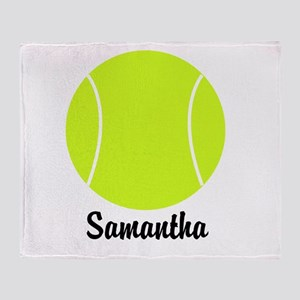 Tennis Ball Throw Blanket