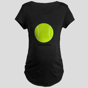Tennis Ball Maternity T-Shirt