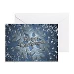 Snow Flake (pk Of 10) Greeting Cards