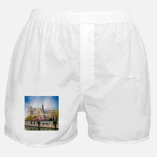 Notre Dame Cathedral Boxer Shorts