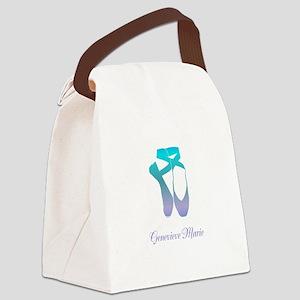 Team Pointe Ballet Ocean Personal Canvas Lunch Bag