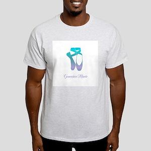 Team Pointe Ballet Ocean Personalize Light T-Shirt